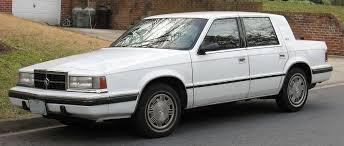 1980s dodge cars dodge dynasty