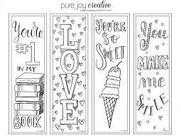 a glimpse inside fun free valentine u0027s day bookmarks