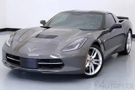 shark gray corvette 1g1yj2d77f5115704 2015 chevrolet corvette stingray z51 w 2lt