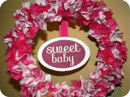 baby shower wreath easy baby shower wreath tutorial cutest baby shower ideas