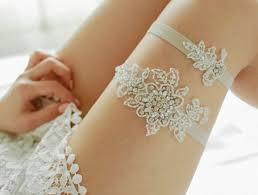garters for wedding these sweet garters will make your s jaw drop