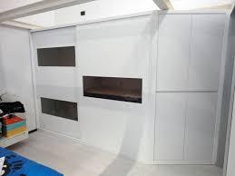 armadio con ante in vetro armadio ad incasso con ante scorrevoli inserti in vetro satinato