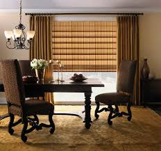 Classic Roman Shades - 20 dining areas with roman shades home design lover