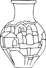 Vase Drawing Clipart Vase 31 Line Drawing
