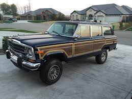 1989 jeep wagoneer lifted 1966 jeep wagoneer original paint and factory winch for sale