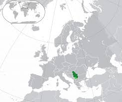 serbia map blank political serbia map with cities