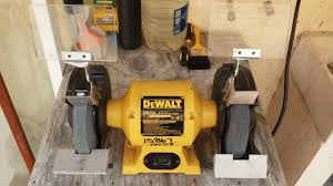 Bench Grinders Review The Dewalt Dw758 8 Inch Bench Grinder Review Authorized Boots