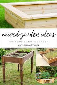 raised garden ideas pinterest home outdoor decoration