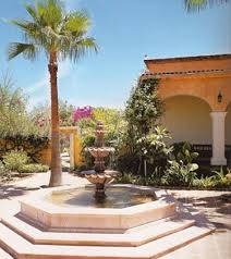 style courtyards hacienda style our books design books