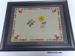 my paper quilling artwork my scrawls