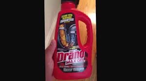 Best Drano For Sink by How I Used Drano Youtube