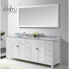 virtu usa md 2178 wmsq caroline parkway 78 double square sink