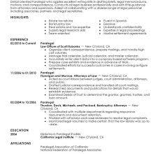 Sample Resume Paralegal by Paralegal Resume Cvlook01 Billybullock Us