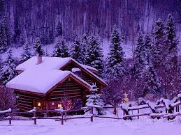 Winter Houses by Winter Frozen Icy Mountain Winter Lovely Snow Houses Forest Frost