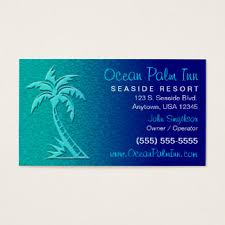palm tree business cards templates zazzle