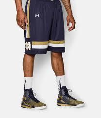 Notre Dame Infant Clothes Men U0027s Notre Dame Ua Basketball Shorts Under Armour Us
