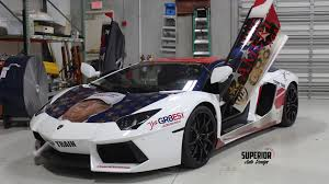 gold and white lamborghini lamborghini trumpventador the trump wrapped aventador coming to