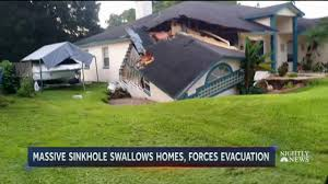 sinkhole rapidly grows swallows central florida homes nbc news