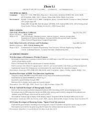 Best Business Resumes by Full Stack Developer Resume Best Business Template