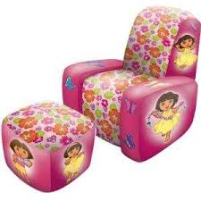Inflatable Chair And Ottoman by 7 Dora Chairs For Kids Who Love Dora The Explorer Furniture