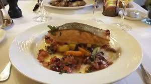 cuisine sur plancha dos de saumon bio saisi sur plancha picture of chez francoise