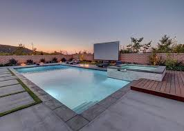 How To Create An Outdoor by How To Create An Entertaining Outdoor Movie Night