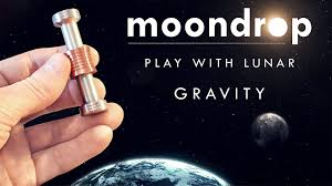 Physics Desk Toys Moondrop Fidget Desk Toy Displaying Gravity On The Moon By