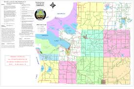 Michigan Orv Trail Maps by Commissioners