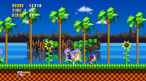 sonic 1 hd green hill zone by hyperchaotix fun gaming