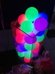 glow in the party decorations party themes neon party glow in the party ideas