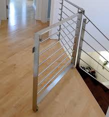 Modern Banister Rails Milkdesign Modern Staircase Chicago