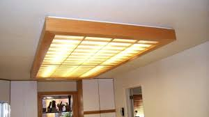 Fluorescent Light Fixture Cover Traditional Kitchen Fluorescent Lighting Fixtures Ceiling On Light