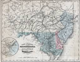 Show Me A Map Of Maryland 1860 U0027s Pennsylvania Maps