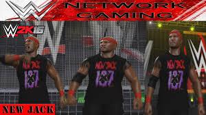wwe 2k16 create a wrestler new jack caw community creations ps4