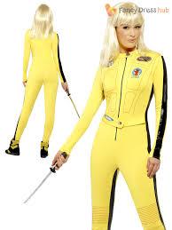 Halloween Costumes Ebay Ladies Kill Bill Costume Uma Thurman Fancy Dress Halloween