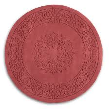 Red Round Rugs by Circular Rugs Next Roselawnlutheran
