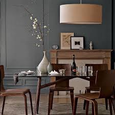 Dining Room Drum Pendant Lighting Drum Pendant Linen West Elm