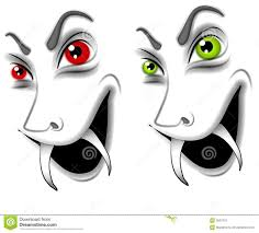 evil halloween vampire faces stock photo image 3067970