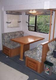 Rv Dinette Booth Bed Rv Dinette Table Bed