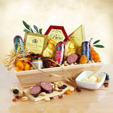cheese gift baskets deluxe meat and cheese wooden crate gift basket california delicious