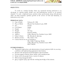 resume format for engineering freshers doctor s care marvelous sle resume format for freshers software engineers pdf