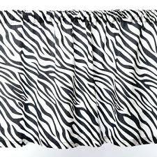 Zebra Print Curtain Panels Trendy Zebra Print Kitchen Curtains U2013 Muarju