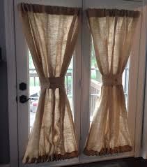 Burlap Curtains Target Burlap Curtains Valances
