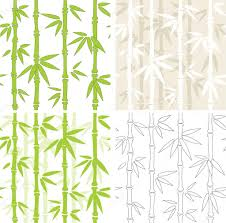 seamless vector backgrounds with bamboo u2014 stock vector frenta