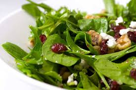 spinach arugula cranberry and walnut salad s ambrosia