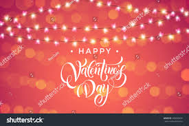 valentines day lights luxury valentines day garland lights hearts stock vector 566838433