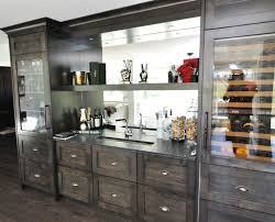 back bar cabinets with sink custom wine bar wet bar sink wine coolers mirrored back and lots