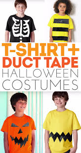 halloween costumes using duct tape and a t shirt