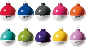 pantone ornaments will make you wish it was all year