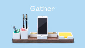 Making Memories Wood Desktop Organizer White by Gather The Minimal Modular Organizer That Cuts Clutter By Jeff